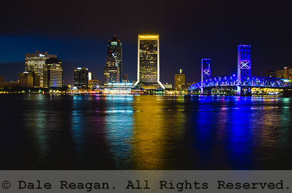 Night Reflections - Waterfront - Jacksonville, FL